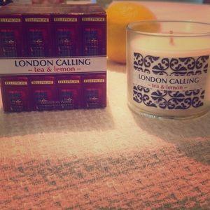 NIB Bath & Body Works London Calling 1 wick candle